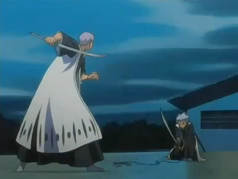 Bleach - Gin vs Hitsugaya