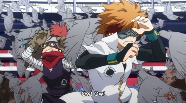 My Hero Academia Episode 56 - Pigeon attack