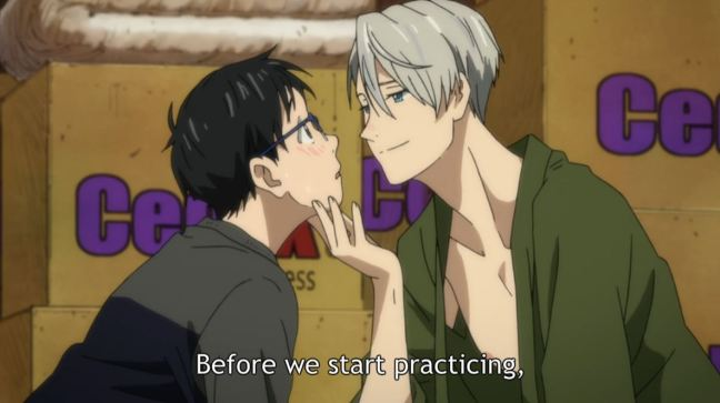 Yuri on Ice - Episode 2 - Victor and Yuri