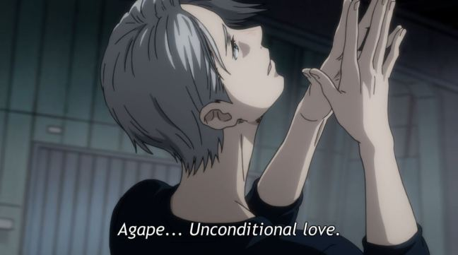 Yuri on Ice Episode 3 - Victor skating Agape