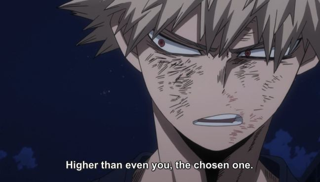 My Hero Academia episode 61 - Bakugo