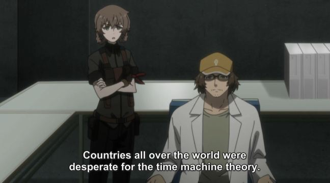 Steins;Gate 0 Episode 20 - Future Daru and Suzuha