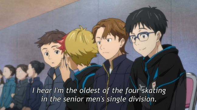 Yuri on Ice Episode 5 - Yuri and Minami