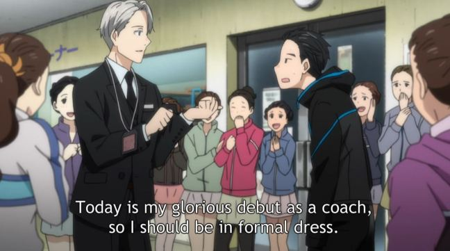 Yuri on Ice Episode 5 Victor's Coaching Debut