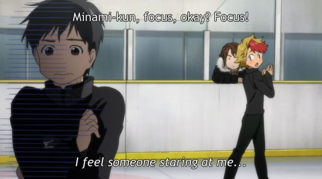 Yuri on Ice Episode 5 - Minami and Yuri