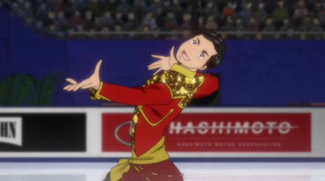 Yuri on Ice Episode 6 Phichit