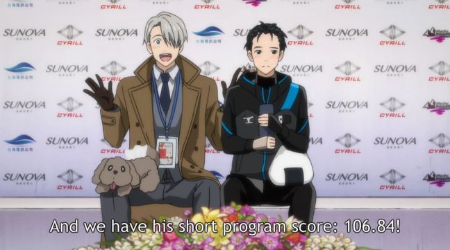 Yuri on Ice Episode 6 Yuri and Victor