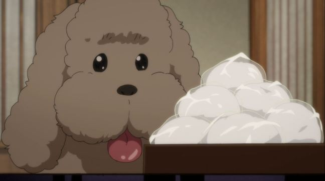 Yuri on Ice Episode 8 Makkachin