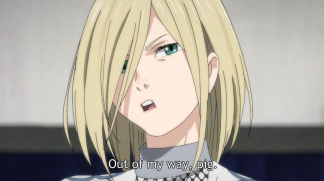 Yuri on Ice Episode 8 Yuri Plisetsky