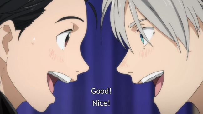 Yuri on Ice Episode 8 Yuri and Victor