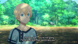 Sword Art Online Alicization Episode 3