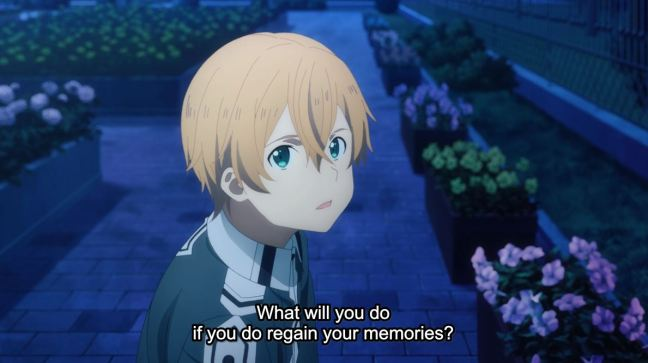 Sword Art Online Alicization Episode 7 Eugeo