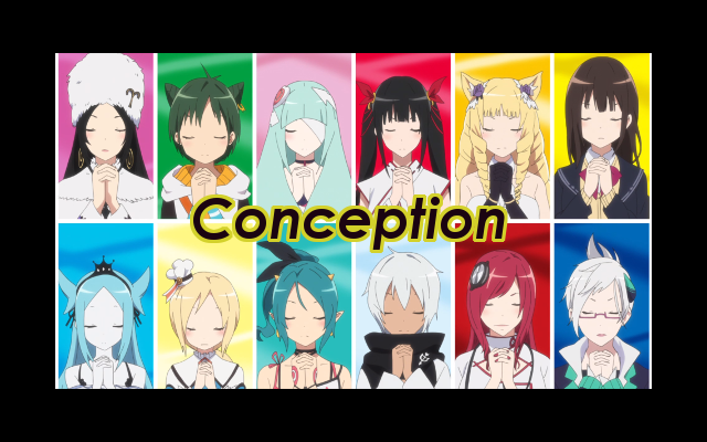 Conception Anime Episode Review Title Image
