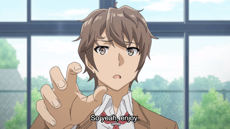 Rascal Does Not Dream of Bunny Girl Senpai Episode 11 Sakuta