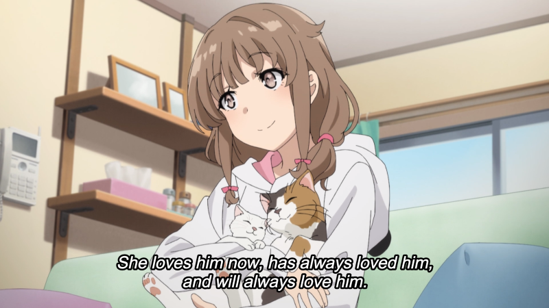 Rascal Does Not Dream of Bunny Girl Senpai Episode 13 Kaede