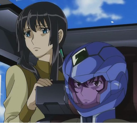Setsuna and Marina - Gundam 00