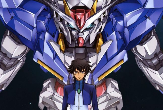 Setsuna F Seiei and the Gundam - Gundam 00