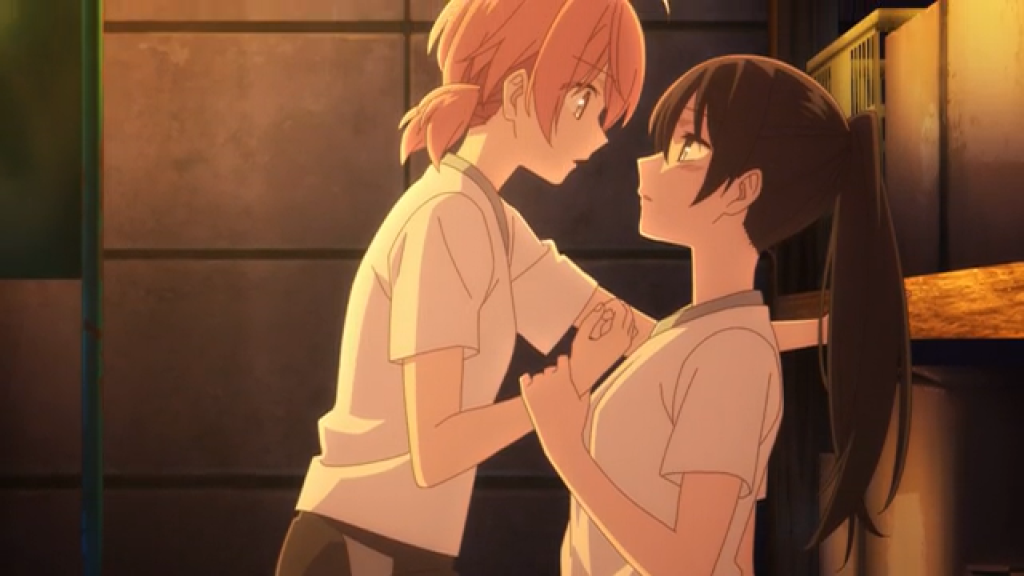 Bloom Into You Episode 9 Yuu and Nanami