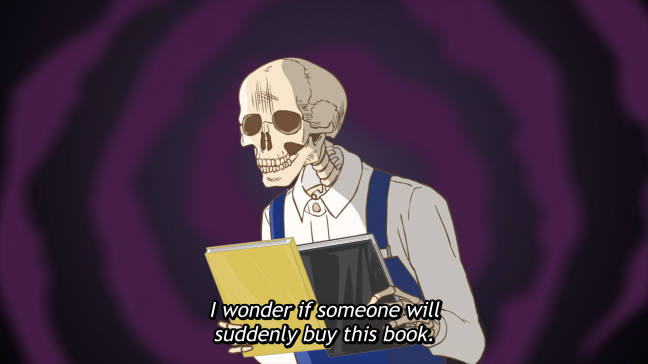 Skull Face Bookseller Honda San Episode 9