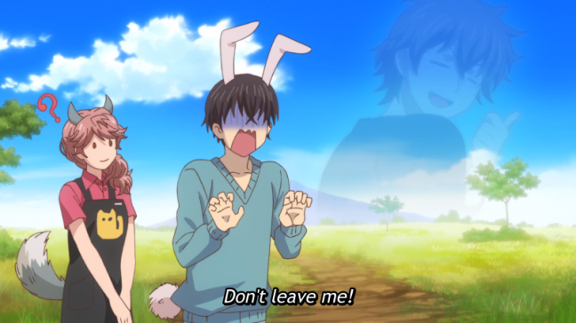 "My Roommate is a Cat Episode 4 Subaru ""Don't leave me"""