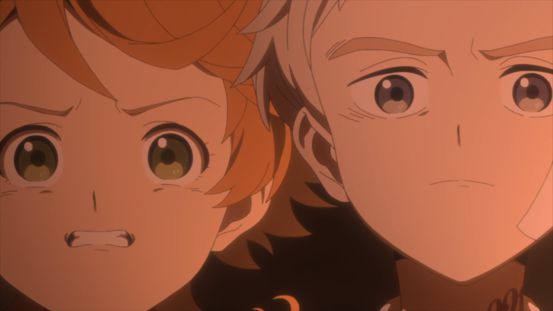 The Promised Neverland Episode 7 Emma and Norman