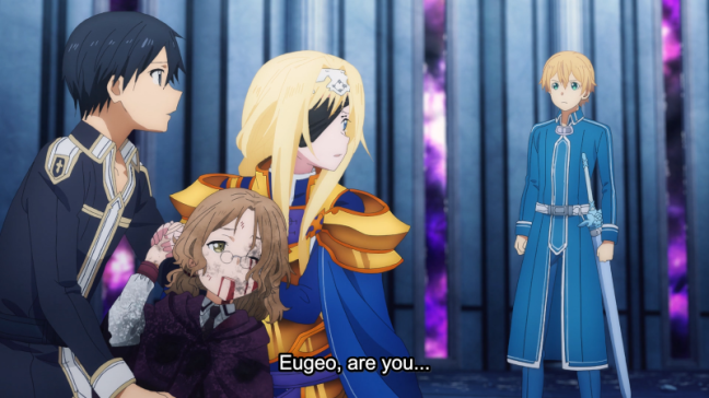 Sword Art Online Alicization Episode 23 - Eugeo are you...