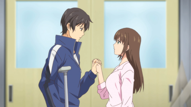 Natsuo and Hina - Domestic Girlfriend - Episode 11