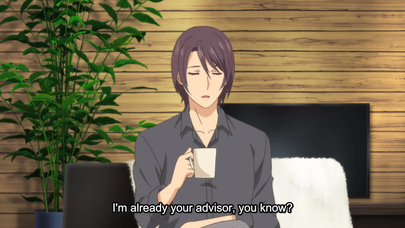 Advisor - Domestic Girlfriend - Episode 11