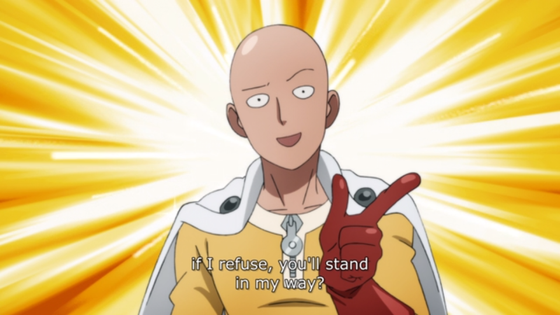 One Punch Man - Season 2 Episode 2 - Saitama